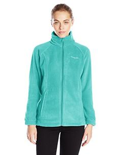 Columbia Womens Benton Springs Full Zip Miami Large * You can find more details by visiting the image link.(This is an Amazon affiliate link and I receive a commission for the sales)