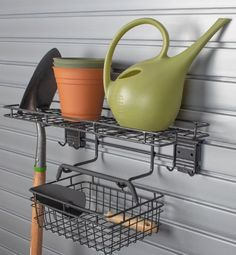 HandiWall Garden Center Accessory connects to HandiWall SlatWall which is a great tool to help you with your organization needs . Free ground shipping.