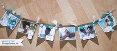 photo garland/pennants - wedding