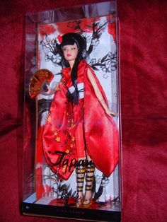 2010 JAPAN * Dolls of the World * Pink Label * Collector Barbie Doll   eBay