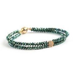 Green 'Pixie' Bracelet