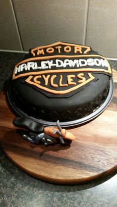 Harley cake for the birthday of my husband.