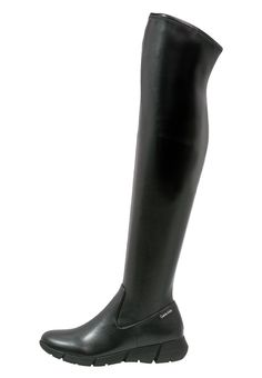 Calvin Klein WILLANA Overknees black Premium bei Zalando.de | Obermaterial: Hochwertiges Lederimitat, Innenmaterial: Textil, Sohle: Kunststoff, Decksohle: Textil | Premium jetzt versandkostenfrei bei Zalando.de bestellen!