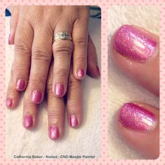 CND Shellac in Sultry Sunset with Sizzling Sand Additive #shellac