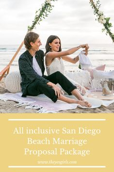 Check out our all inclusive San Diego Beach Marriage Proposal Package! One stop shop for your Beach Proposal in Southern California.