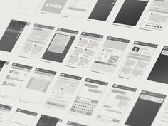 Wireframes by Trent Cox
