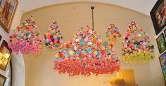 pajaki or Polish paper chandelier