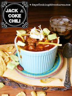 Amy's Cooking Adventures: Jack & Coke Chili