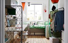 Stylish European imports for your dorm.