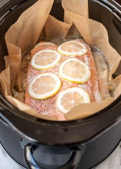 How To Cook Salmon in the Slow Cooker