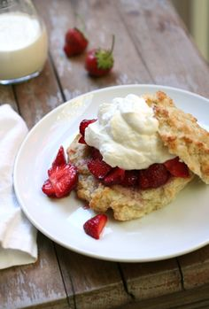 The only strawberry shortcake recipe you'll ever need.