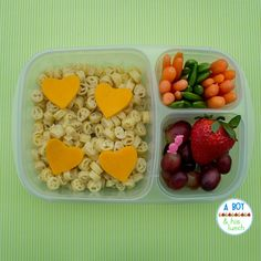 Leftover Annies Homegrown Organic peace pasta with cheddar hearts