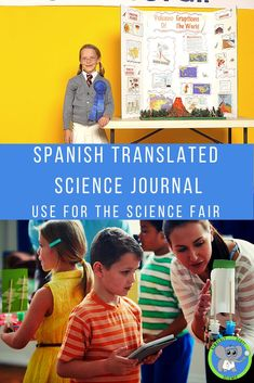 Teachers can send home this Spanish science journal digitally. It allows students to create their own experiment using supplies they have. It follows the scientific method. Monitor students progress on your LMS. It will enable Spanish speaking parents to work with their child. It is a great way to support students in preparing a science fair project.