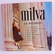 LP, 33, MILVA LA BUCURESTI ELECTRECORD ROMANIA 1965