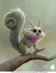 squirrel_creature_by_michael_kutsche
