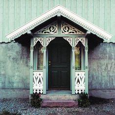 Scandinavian Cottage, Scandinavian Design, Veranda Ideas, Ranch Remodel, Minis, Tiny House, Gazebo, Outdoor Living, Exterior