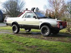 Subaru Brat. remember those seats in the back?!