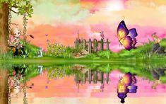 http://www.tranquilwaters.uk.com/fantasyart  Fantasy art - Page 31 - Butterflies - Galleries