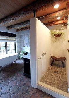 60 ideas home decored styles spanish revival beams Spanish Style Bathrooms, Spanish Bathroom, Spanish Style Homes, Spanish Kitchen, Spanish Revival, Spanish Style Kitchens, Spanish Colonial, Spanish Design, Design Hotel