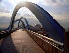 Nagoya Pedestrian Bridge Japan  #infrastructure #nagoya #pedestrian #bridge #japan #photography