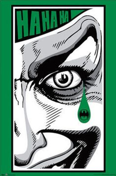 The Joker Tear - Batman Comic Posters at AllPosters.com