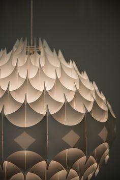 Havlova Milanda ceiling lamp Rythmic by Vest   via Studio Schalling