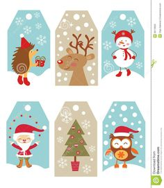 christmas tags - Buscar con Google
