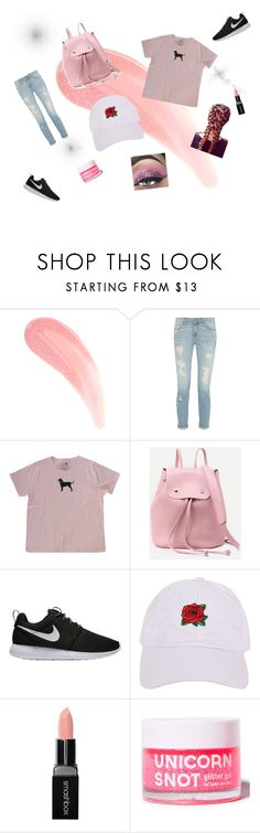 """Pink lemonade"" by cmyre ❤ liked on Polyvore featuring NIKE, Armitage Avenue and Smashbox"