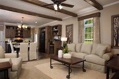 interior clayton mobile homes | Clayton Homes - Mobile | Photo Gallery | SOHO 001 | 1216 sq. ft. | 3 ...