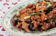 Sweet and sour pork, a new version - Feast Asia!