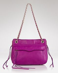 Rebecca Minkoff Shoulder Bag - Swing Leather | Bloomingdale's