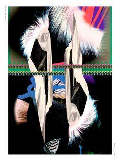 Nina Pusch, Nina Gottlieb Overnight Design Jam. Die Arbeiten entstanden über Nacht im Rahmen des ersten Design Jams im Krieger des Lichts Headquarter. Das Ergebnis ist ein Designmagazin über Sneaker-Kultur ►  Jahr: 2013, Tags: Print, Sneakerness, Design Jam, Sneaker, Messe.