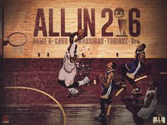 2016 Cleveland Cavaliers NBA Finals Graphics Package on Behance