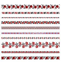 GOOD SMALL PATTERNS - Ukrainian embroidery ornament vector