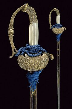 An officer's sword,dating: 19th Century  provenance: Europe .