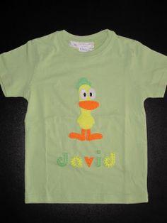 cocodrilova: camiseta pato