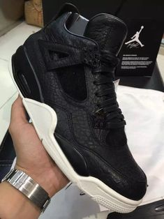 huge selection of abee0 1e81d air jordan 4 retro premium black Michael Jordan Shoes, Air Jordan Shoes,  Jordan Retro