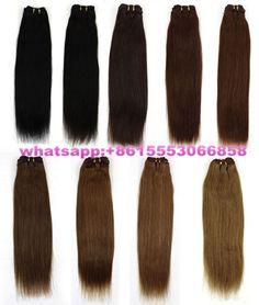 100% human hair extension, hair weaves, dark color, straight, 100g/bundle. website:www.aliexpress.com/store/1081948
