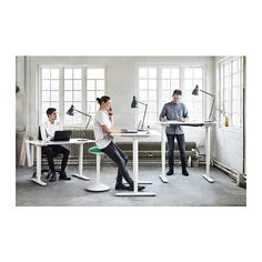 Highly recommended: BEKANT Desk sit/stand - white - IKEA