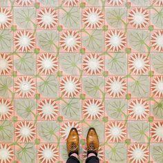 In beeld: zo mooi zijn de vloeren in Barcelona