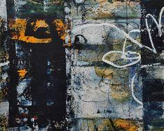 "Bill Gingles, Waking To Rain, acrylic on canvas, 24"" x 30"", MMXVI"