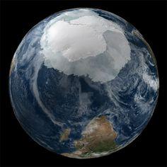 Scientific Visualization Studio Collection, NASA Antarctica from space