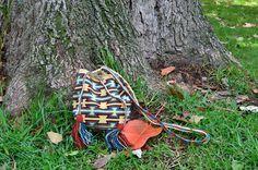 WAYUU BAG – Mini Mochila. Handwoven by a woman from the Wayuu Tribe. www.colombiart.co