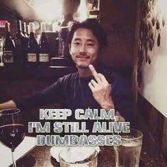 Yeah he is!