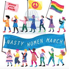 14 Women's March Posters We Love - Well Rounded NY
