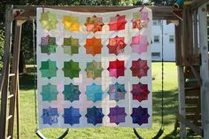 Great post of customer renditions of many of Rachel Griffith's quilts.  Links to patterns