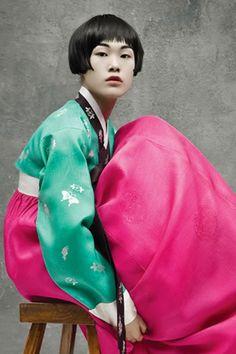 splendid hanbok
