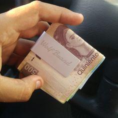 Money clip Clip para billetes y tarjetas