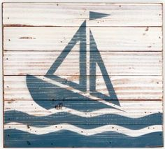 I wish i was always sailing Nautical Wedding, Nautical Theme, Nautical Style, Pallet Crafts, Pallet Projects, Nautical Bathrooms, Backyard Fences, Sail Away, Sea And Ocean