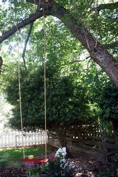 Marcella Rose's The Perfect Tree Swing – DIY Tutorial | My Crafty Spot - When Life Gets Creative